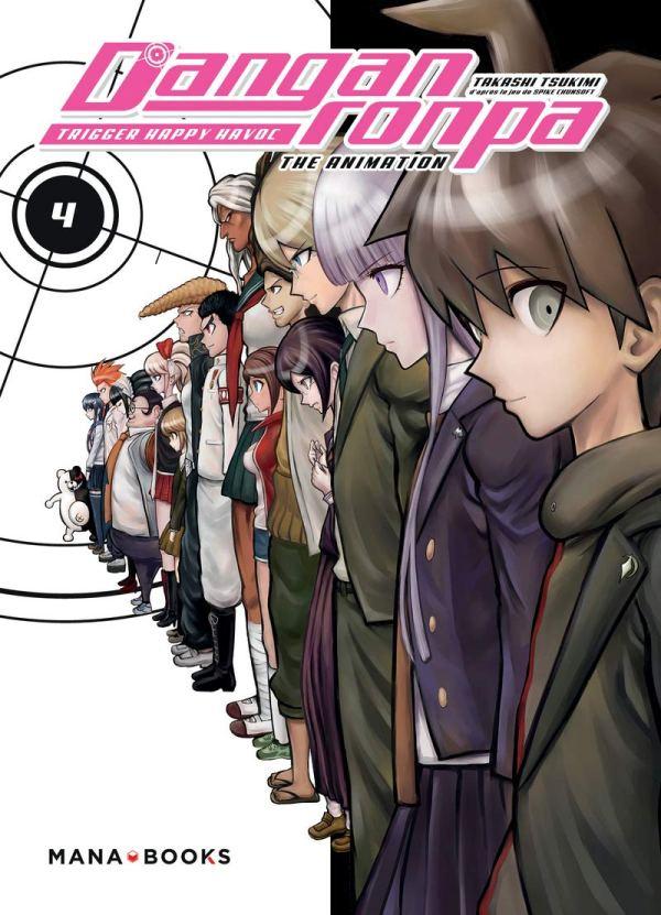 Couverture du manga Danganronpa tome 4